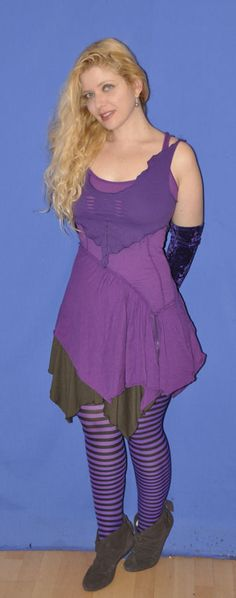 Tips to turn your old discarded t-shirts into pixie wear ··· | ··· Your Fantasy Costume