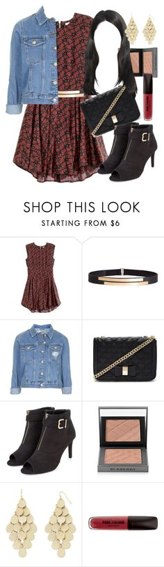 """""""Mona Vanderwaal inspired date night outfit"""" by liarsstyle ❤ liked on Polyvore featuring H&M, Topshop, Forever 21, Burberry, Bold Elements, date, mid and ss"""