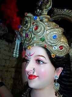 Durga Ji, Durga Goddess, Maa Durga Photo, Rudra Shiva, Mata Rani, Om Sai Ram, Mother Goddess, Hindu Temple, Ganesh