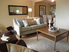 Open House: staging