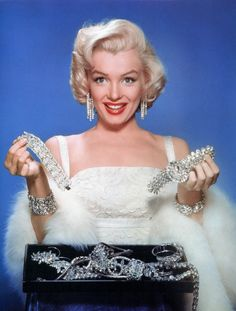 Marilyn Monroe in a publicity photo for How to Marry a Millionaire (1953)