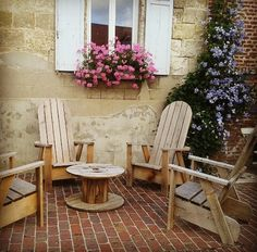#deco #terrasse #jardin #salon #bois #exterieur