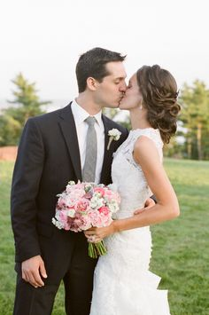 Northport, Maine Wedding from Meredith Perdue Wedding Hair And Makeup, Hair Makeup, Bride Groom Photos, Bridal Looks, Her Hair, Wedding Hairstyles, Style Me, Wedding Photography, Wedding Dresses