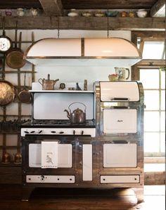 Incredible vintage stove.
