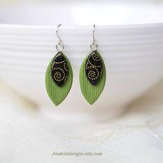 Long earrings  Dangle earrings  Womens gift  Girlfriend