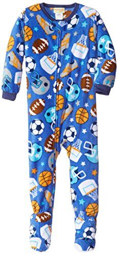 Komar Kids Little Boys' Sports Fleece Blanket Sleeper * Check out this great image @