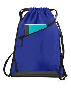 0c5c323b1c These wholesale drawstring backpack bags are made with durable 210D  polyester and Coated canvas material to