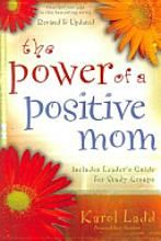 I am about half way through this book. It is making a huge difference! Moms- it is worth the read!