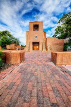 San Miguel Mission - Santa Fe, New Mexico