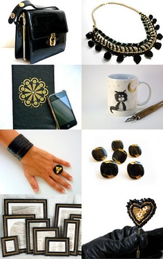 Black Gold - pinned via treasurypin.com