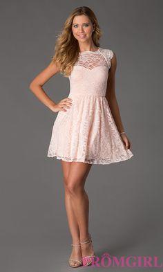 Short Prom Dress Style: MO-11813 Detail Image 1