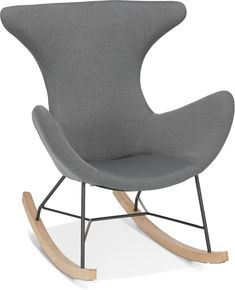 Kokoon Design, Style Loft, Structure Metal, Rocking Chair, Html, Furniture, Baby, Home Decor, Products