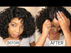 YouTube Synthetic Lace Front Wigs, Synthetic Wigs, Hair Stores, Wig Making, Wig Styles, Hair Pieces, Hair Tutorials, Hair Ideas, Youtube