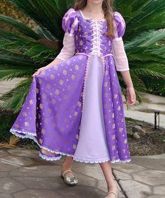 Rapunzel adaptation for a little girl. Cinderella Dress For Girls, Princess Dress Kids, Princess Ball Gowns, Rapunzel Costume, Rapunzel Dress, Disney Rapunzel, Little Girl Dresses, Girls Dresses, Tulle Dress