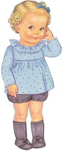 Myrantine : tunique à col volanté ou sans col avec empiècement contrasté, boutonnée au dos, de Citronille