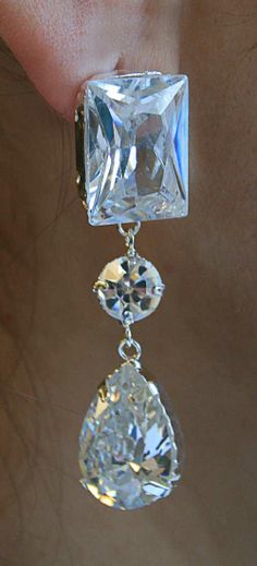 Largest silver jewelry set style 83 with crystals http://www.pinterest.com/modaoutlet
