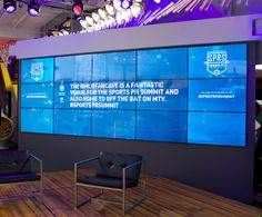 Bring your event, office lobby, or venue to life with an immersive social wall that showcases custom-designed Instagram and Twitter feeds.