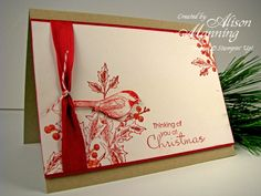 First Christmas Card by alimarbles - Cards and Paper Crafts at Splitcoaststampers