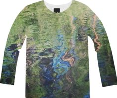 Ripple Long Sleeve Tee from Print All Over Me