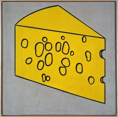 Roy Lichtenstein - Swiss Cheese (1962)