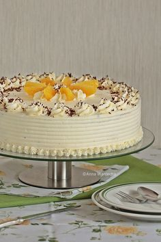 Cafe Amaretto, Cake Frosting Designs, Easy Cake Decorating, Polish Recipes, Birthdays, Food And Drink, Birthday Cake, Cooking Recipes, Favorite Recipes