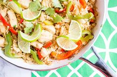 One-Pan Cilantro Lime Chicken and Rice