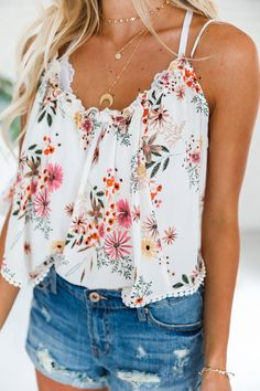 Zinnia Crop Top - Lu