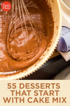 55 Things to Do With a Box of Cake Mix - Desserts - Cake Recipes Recipes Using Cake Mix, Box Cake Recipes, Recipe Using, Dessert Recipes, Homemade Cake Mixes, Cake Mix Desserts, Cake Mix Cookies, Easy Desserts, Cake Mix Muffins