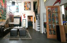 Matt, Ryan & Mason's Carefully Curated Artist Loft