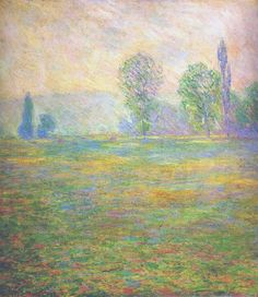 bofransson:  Claude Monet - Meadows in Giverny
