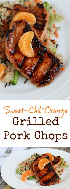 Sweet Chili Orange Pork Chops