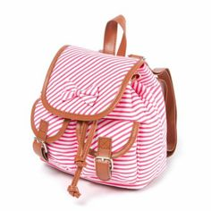 Kids Mini Striped Backpack with Bow