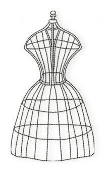 Der Stickbär | Vintage Sewing | Stickmuster mit Herz