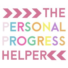The Personal Progress Helper: The Personal Progress Helper Official Facebook Page!  AWESOME WEBSITE!