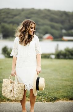 4bc0e31a21f7d look for less  white eyelet summer dress