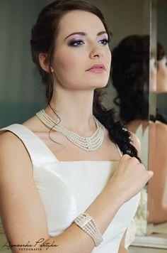 Biżuteria ślubna z perełkami z kolekcji Decoris & Art