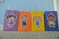 Hey, I found this really awesome Etsy listing at https://www.etsy.com/listing/180299809/little-einstein-goody-bags
