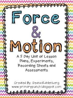 Here's a set of materials for a unit on force and motion with specific attention to wind.