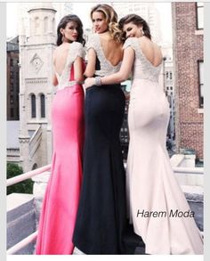 a5b4956c1cf1a3 2015 New Design Custom Made Tarik Ediz Crystal Modern Mermaid Evening  Dresses Beaded Cap Sleeves Backless Sexy Floor-length Evening Gowns