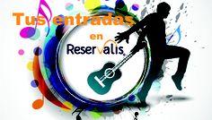 Reservalis ofrece ofertas de entradas a espectáculos, fútbol, conciertos, parques temáticos, parques acuáticos, museos, zoológicos, etc al mejor precio!!    www.reservalis.com/entradas