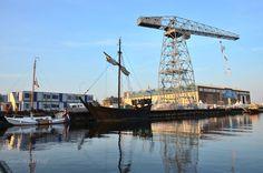 # Sail de Ruyter 2013 # houten schip # Scheldekraan en Machinefabriek # Foto©HvdWarf
