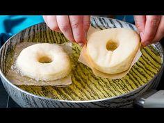 Vaj, krumpli és tojás nélkül! Joghurtos fánk sütve.| Cookrate - Magyarország - YouTube No Cook Desserts, Dry Yeast, Beignets, Bagel, Biscotti, Doughnut, Donuts, Yogurt, Vaj