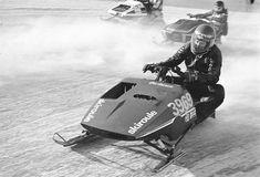 Gilles Villeneuve - SkiDoo World Series St Paul, Minnesota Vintage Motocross, Vintage Racing, Vintage Sled, Snow Machine, Gilles Villeneuve, F1 Drivers, Snowmobiles, Winter Season, Race Cars