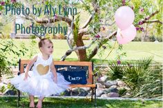 Two year old birthday photo session | House of Harringtons #pink #gold