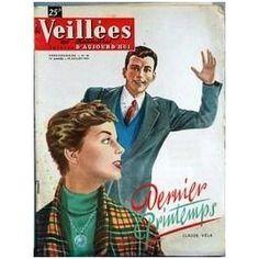 Veillees (Les) N° 38 Du 18/07/1953 - Lectures Romanesques - Tricots- Ouvrages - Enquetes - Cuisine Claude Vela - Stockholm - La Venise Du Nord.