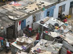 Ghanian shanty town