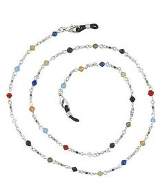 Multi-Colored Crystal Boutique Eyeglass Chain