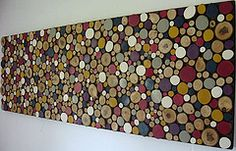 Painted Large Rustic Wood Sculpture (Modern Rustic Art) Tags: wood blue sculpture art modern bed natural furniture unique oneofakind circles painted country rustic wallart earthy headboard organic homedecor largescaleart walldecor wallhanging woodart woodsculpture stickart paintingonwood customart logart treebranchart paintedwoodart hugewallart