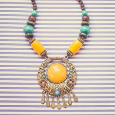 wAXAw - Necklace, Morocco Morocco is one of the most diverse countries in Africa, with high mountains, boundless desert, coastline, curvy alleys of ancient Medina cities, Souks, Berber, Arabian and European cultural influences. 30€