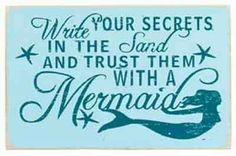 Trust a mermaid